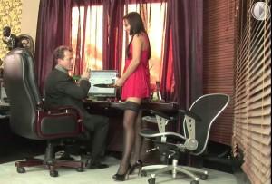 Oralnyiy seks v ofise